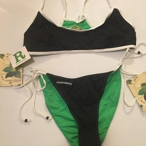 aaron chang reversible Swimsuit